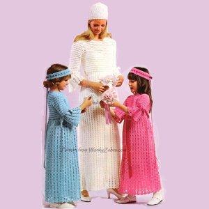 WonkyZebra 175 StitchCraft Wedding and Brides maids Dresses