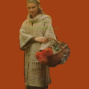 WonkyZebra 271 Crochet Coat