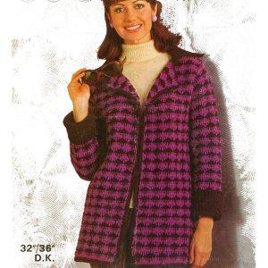 WonkyZebra 333 Ladys Knit Jacket 1424